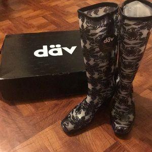 dav Shoes - Dav Fashion Sketchy Lace White